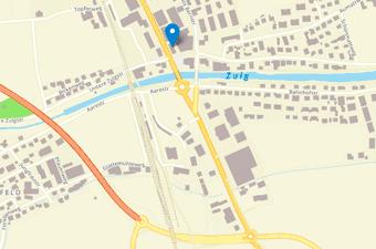 Ortsplan Alte Bernstrasse 127 B, Steffisburg